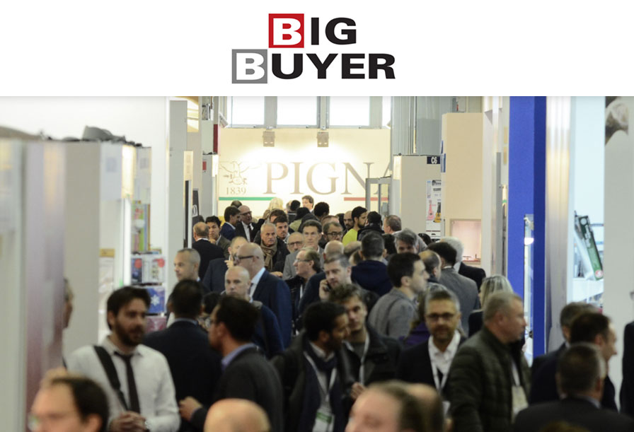 We will be present at the 23rd edition of Big Buyer on 22 November 2018 at Bologna Fiere.