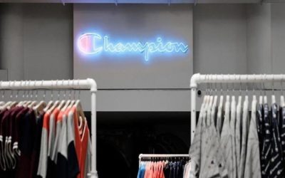 Our collaboration with one of the most famous sports brands: Champion