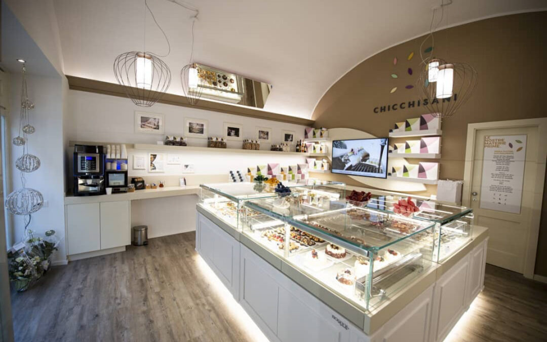 Chicchisani, the new confectionery elaboratory in Turin